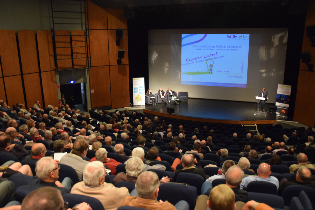 """Conférence - Débat """"Les enjeux de l'éclairage public en Dordogne"""""""