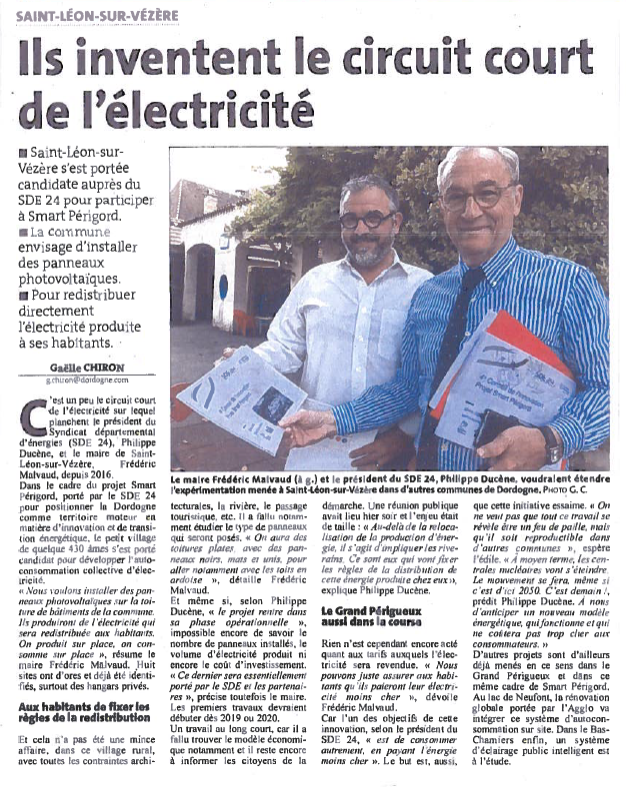 ARTICLE DL DU 30 MAI 2018