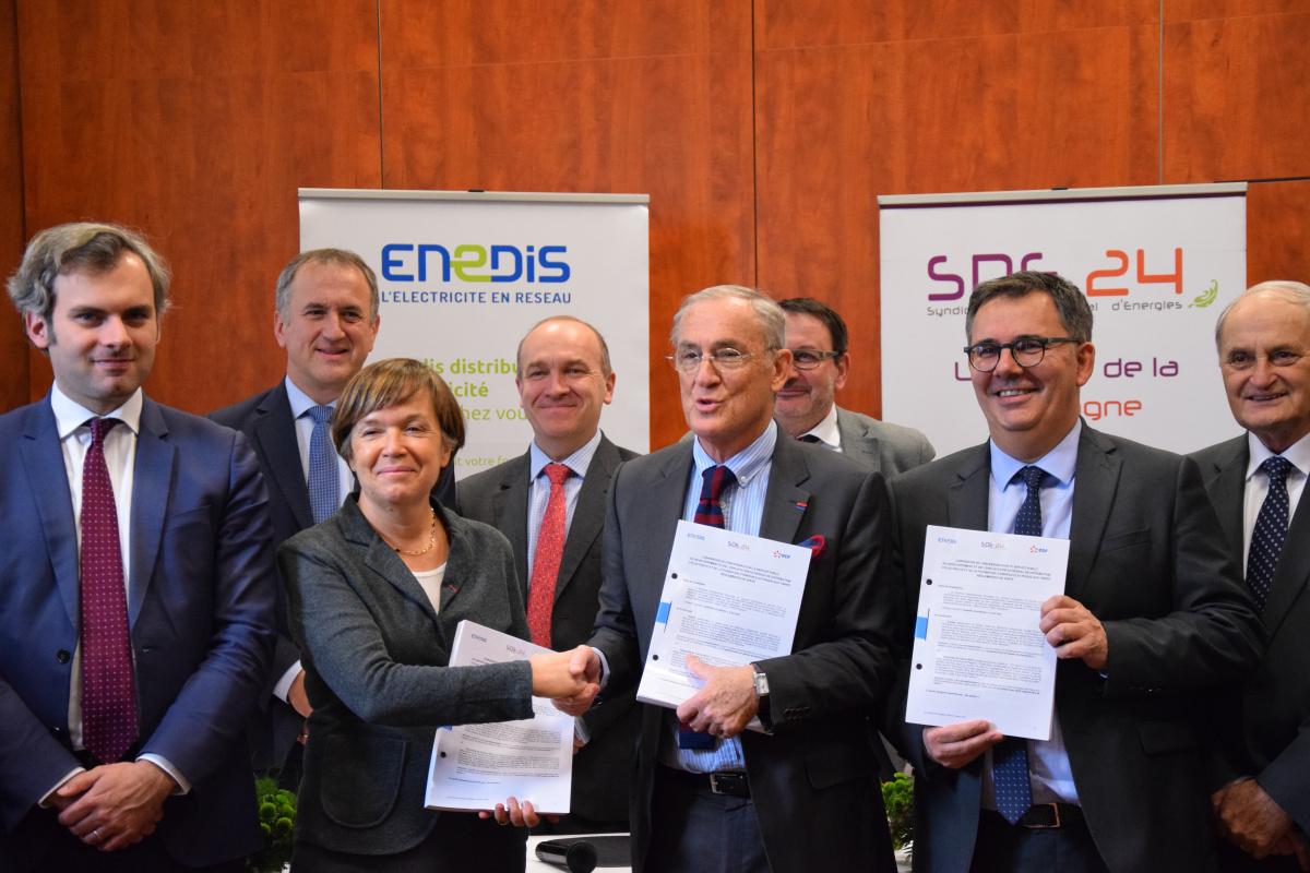 Signature du Contrat de Concession du réseau électrique 2020-2050
