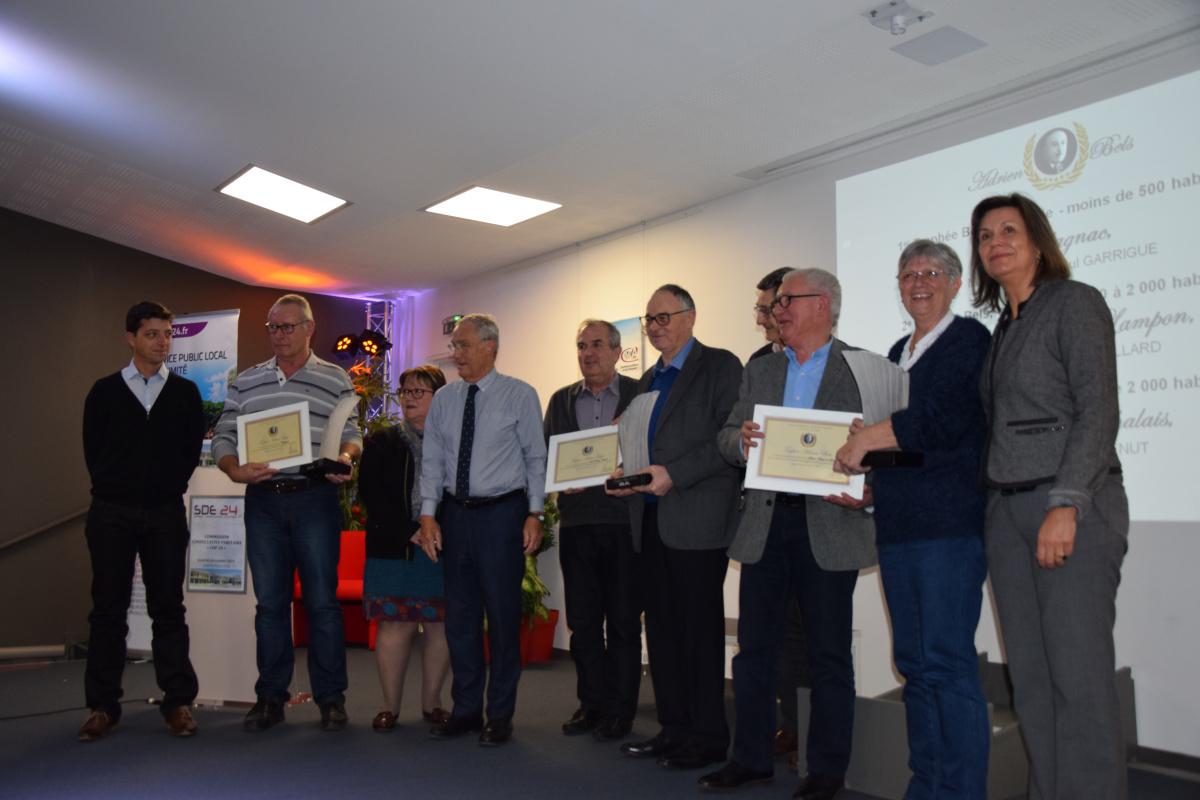 Remise des Trophées Bels 2019