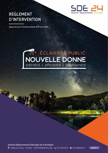 Couv - Règlement EP 2020
